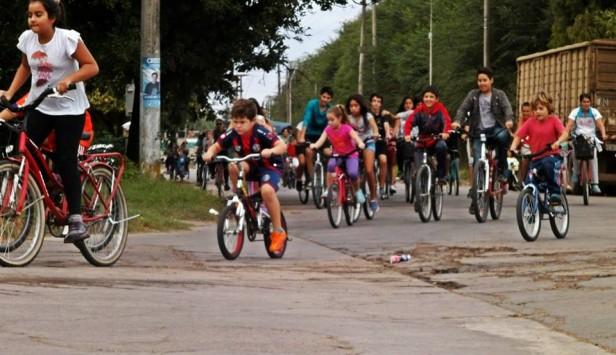 En el marco del día Mundial de la Salud, gran bicicleteada