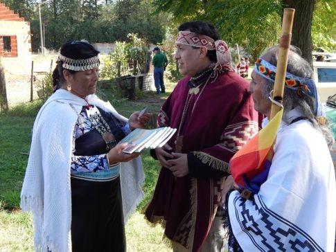 Con distintas delegaciones:los hermanos Mapuche se reunieron y participaron de una importante conversa