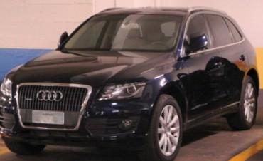 NUEVE DE JULIO: Este mediodía roban en la vía pública un vehículo Audi Q5