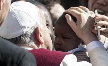 El Papa Francisco con un mensaje al mundo...