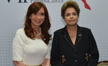 La reunión entre la Presidenta y Dilma