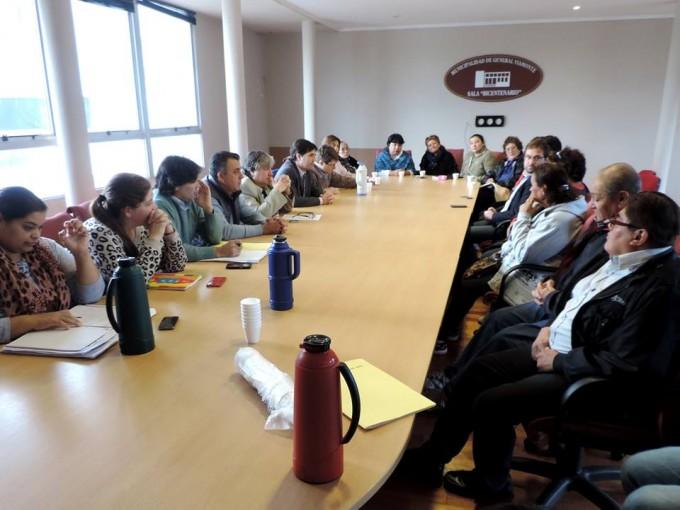Apertura y diàlogo con la comunidad Mapuche
