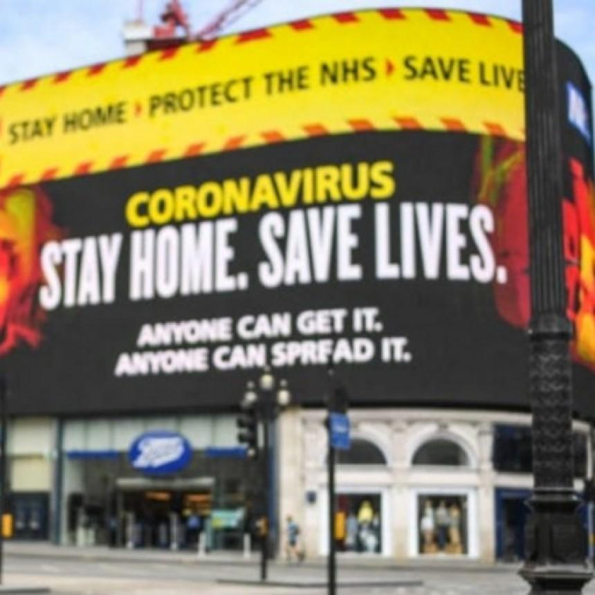 Jornada trágica en Gran Bretaña: 1.000 muertos en un día