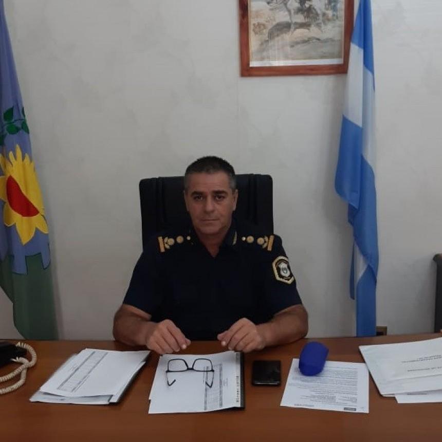 El comisario mayor José Ismael Gil fue designado como titular Superintendencia Regional de Seguridad Región Interior Oeste II