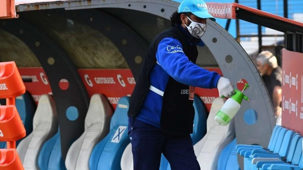 Tras la advertencia del Gobierno, el fútbol argentino extrema los cuidados ante el avance del coronavirus