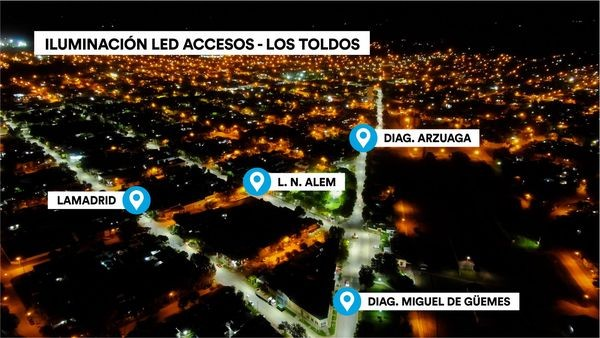 LOS TOLDOS | Plan Led Luminarias