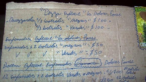 Lanús.Vendían la grande de muzzarella con bolsitas de droga a 100 pesos