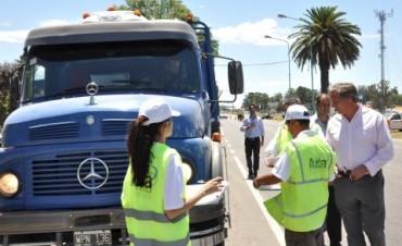 Amplio operativo ARBA controló 2.900 camiones durante un operativo simultáneo en rutas de toda la Provincia