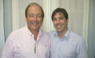 Referentes de la IV Sección se reunieron con Ernesto Sanz