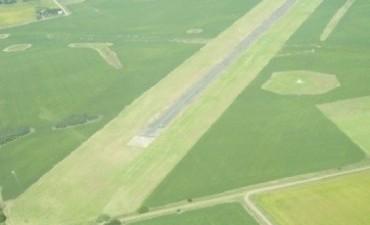 Insolito: aeródromo sin pista pero con soja