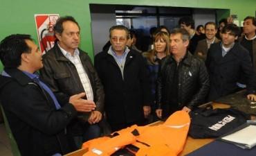 Scioli en el congreso del PJ bonaerense: