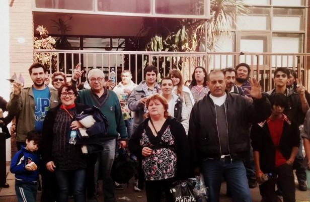 Los Toldos estuvo presente en plaza de mayo con motivo de un nuevo aniversario de la Revoluciòn