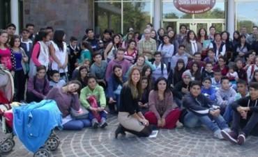 Más de 200 chicos participaron del Parlamento Juvenil del Mercosur