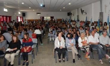 La comunidad educativa del jardín de infantes Nº 901 festejó un nuevo aniversario de la gesta de mayo