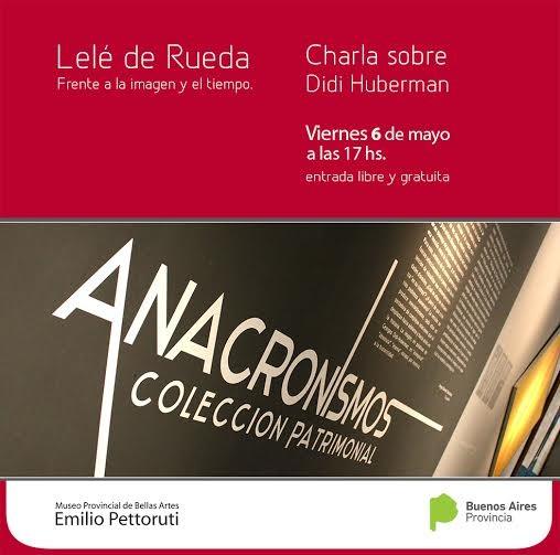 Disertaciòn sobre DIDÍ HUBERMAN en el museo de Bellas Artes