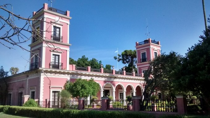 Hoy visitamos el Palacio San José en Concepción del Uruguay