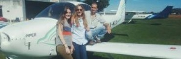 Una joven es la primera piloto comercial egresada de la institución