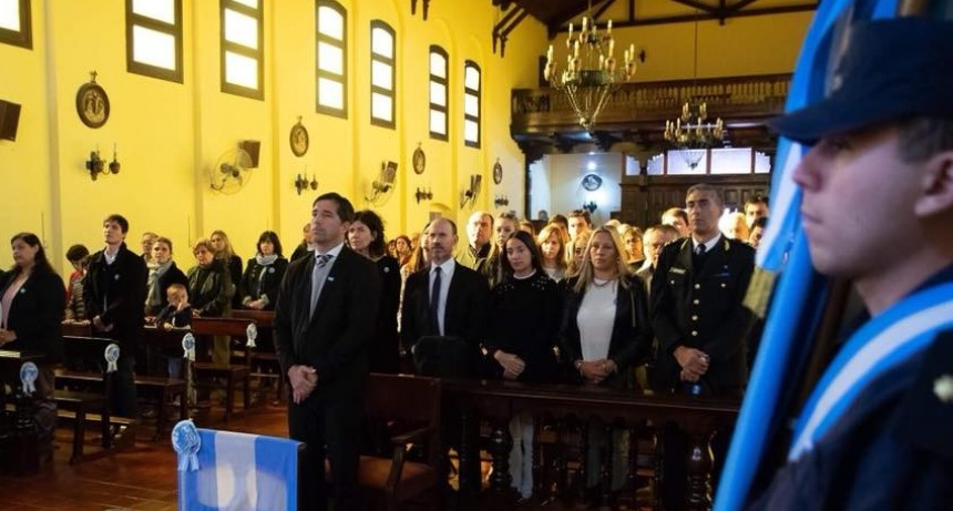 El Intendente Franco Flexas dejó un mensaje en el Acto por el 25 de Mayo