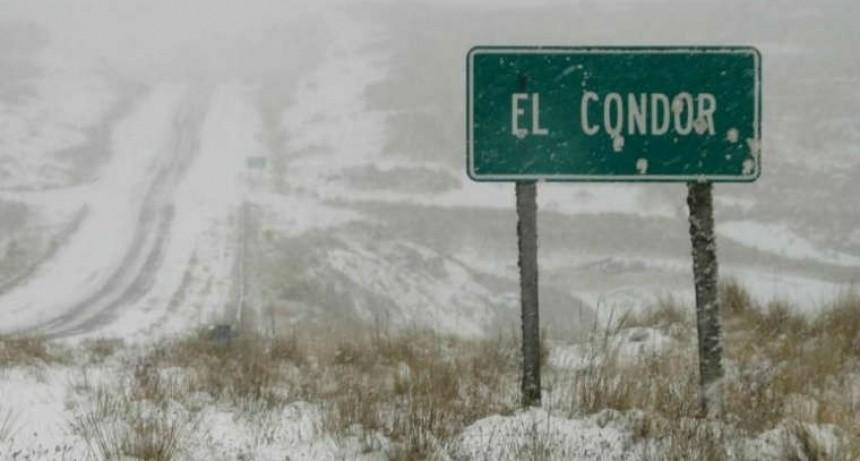 Frío polar. Cortan los caminos al Cuadrado y Altas Cumbres por el clima