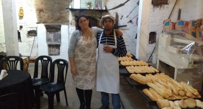 La panaderia de la localidad de San Emilio, supo acuñar su sello: ganas, esperanza, esfuerzo, trabajo y desafios