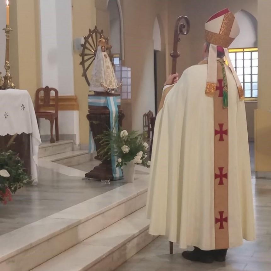 Tedeum del 25 de Mayo en la Catedral de Nueve de Julio