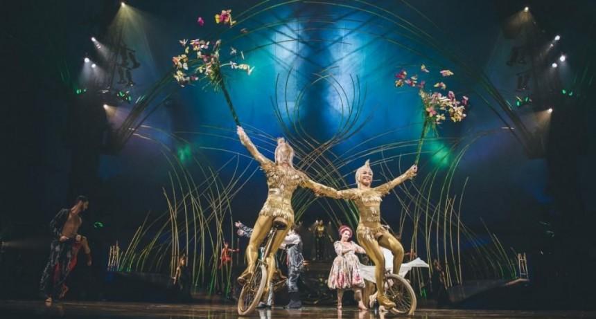 El Cirque du Soleil acumula deudas y despide al 95 por ciento de su personal