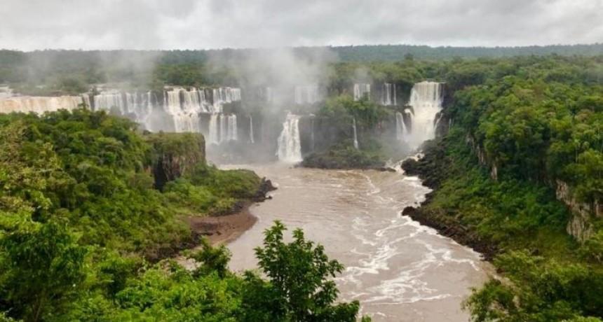 Volvió el agua a las Cataratas del Iguazú tras la sequía