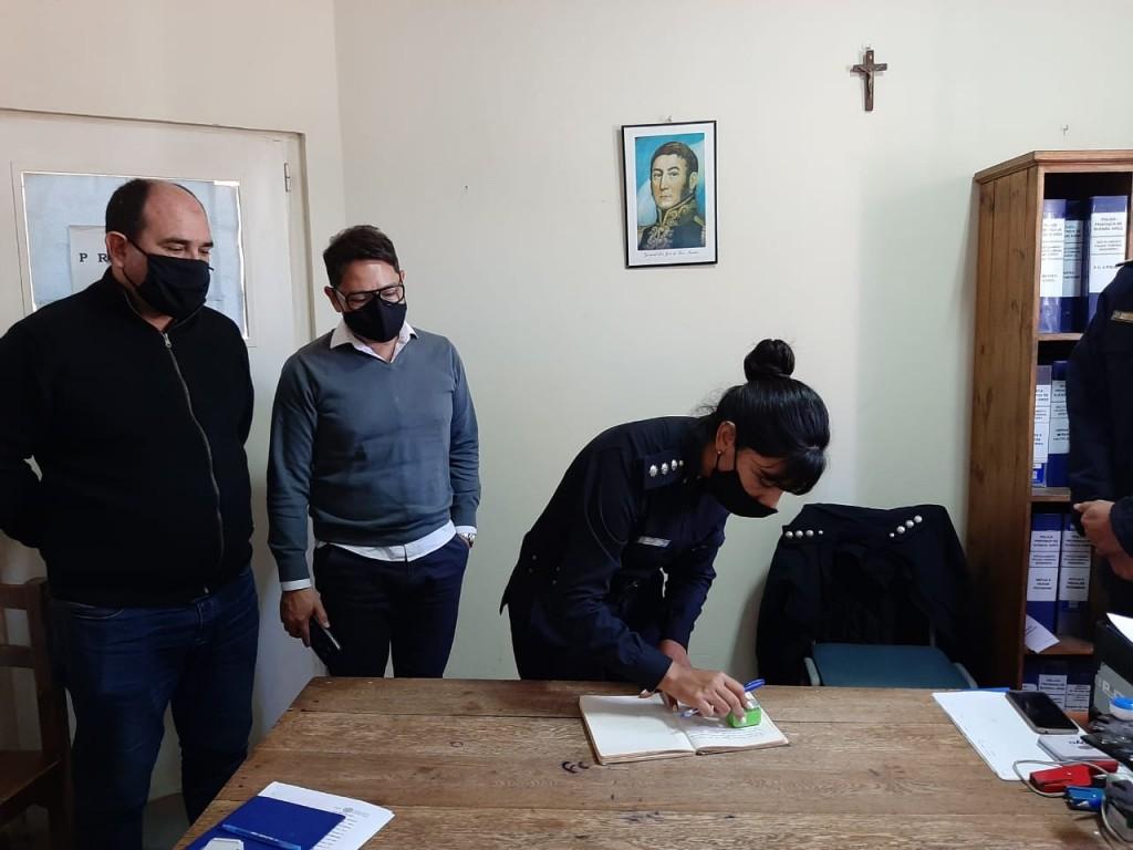 BAIGORRITA | Fue puesta en funciones una nueva encargada del Destacamento de Policía comunal