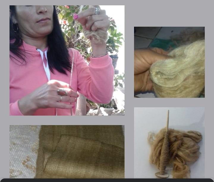 CATAMARCA | La tejedora de las manos de seda, una tejedora muy especial