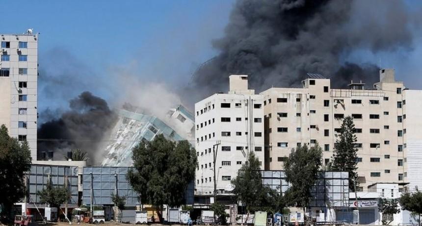Israel bombardeó la casa del líder de Hamas