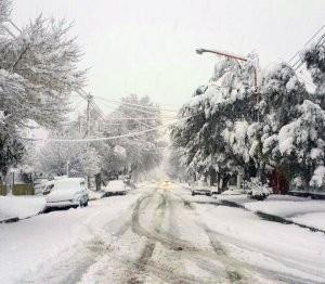Alerta por probables nevadas intensas en la Patagonia