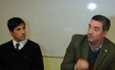 Guillermo Tamarit Rector de la UNNOBA, estuvo en Los Toldos