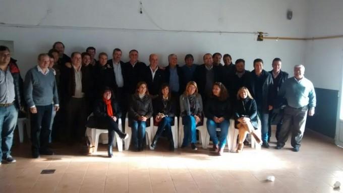 Julio de Vido y Carlos Castagneto visitaron la vecina ciudad de Junìn, participò Viviana Guzzo