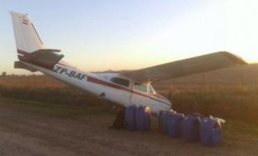 Cayó en Santa Fe una avioneta que transportaría droga
