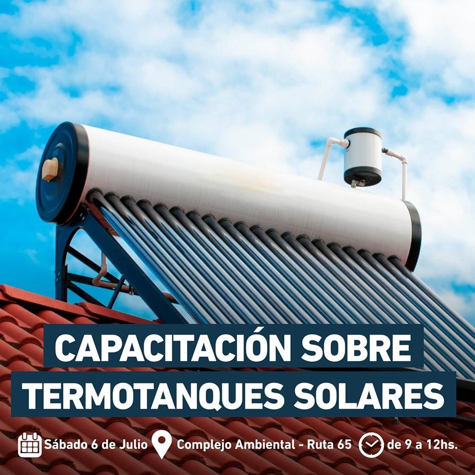 Capacitación en instalación de termotanques