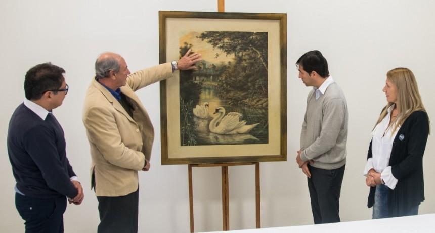 El Museo de Arte e Historia de Los Toldos recibió la donación de una pintura