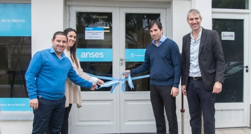 ANSES inauguró su nuevo punto de atención para los vecinos del distrito de  Viamonte