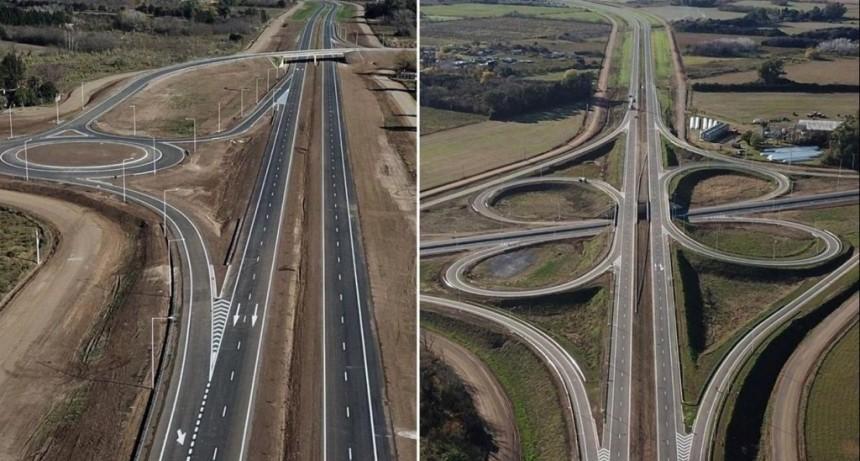 Ruta 7: Ya está pronto a inaugurarse la variante de San Andrés de Giles