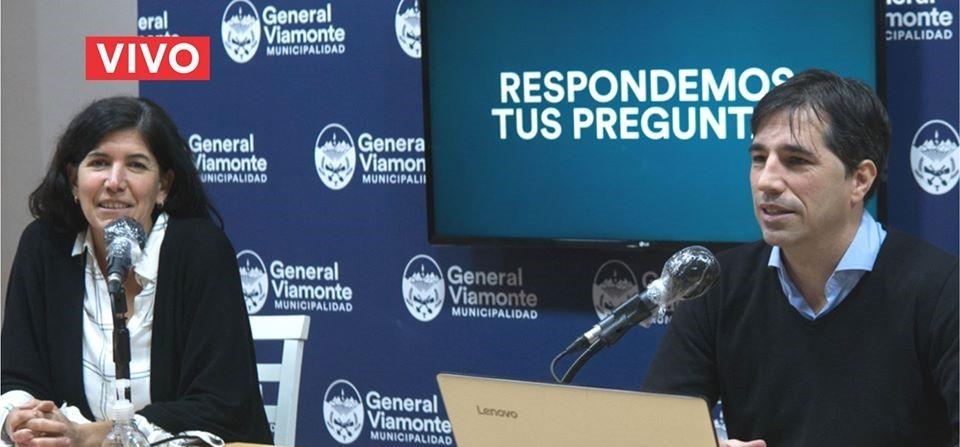 Franco Flexas y Ana Paula Cascallar | Distanciamiento Social  Cuarentena Administrada: Fase 5 en General Viamonte.