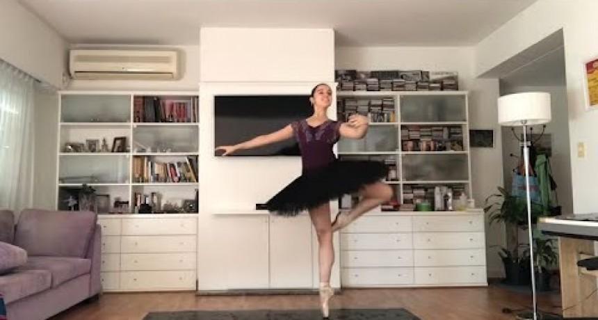 Una argentina de 16 años convocó a 40 bailarinas del mundo y ya son un fenómeno en las redes