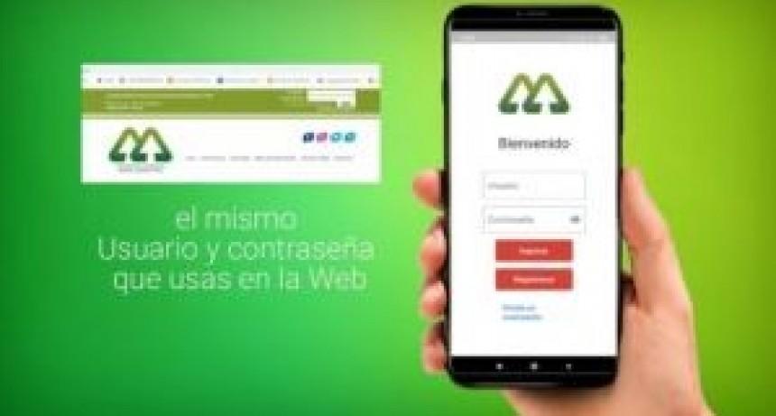 La Cooperativa Eléctrica lanzó una aplicación para celulares