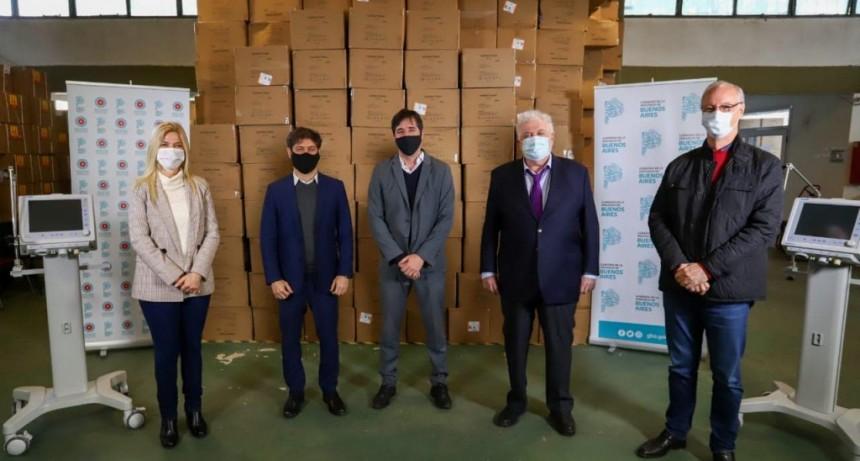 La Provincia entregó más de 200 respiradores a 44 municipios