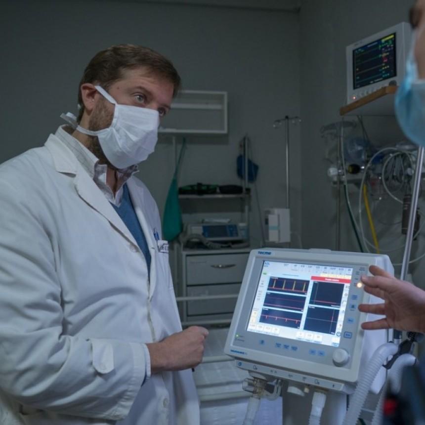 Instalaron el nuevo respirador en el hospital