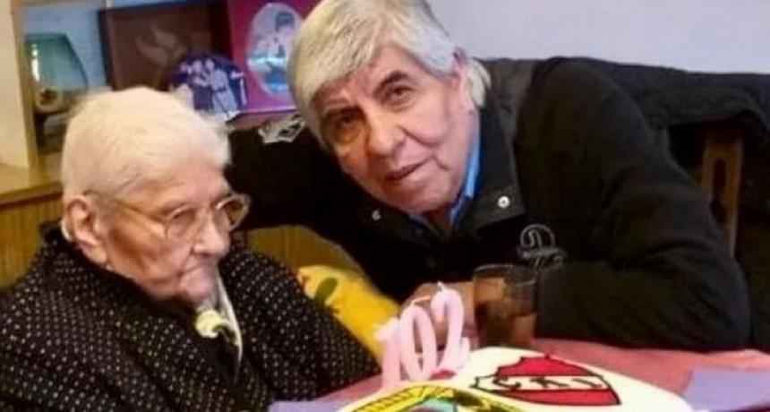 A los 102 años, murió la madre del gremialista Hugo Moyano