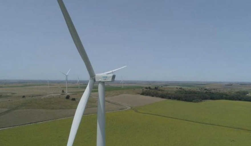 Se terminó en Azul la construcción del Parque Eólico más grande del país