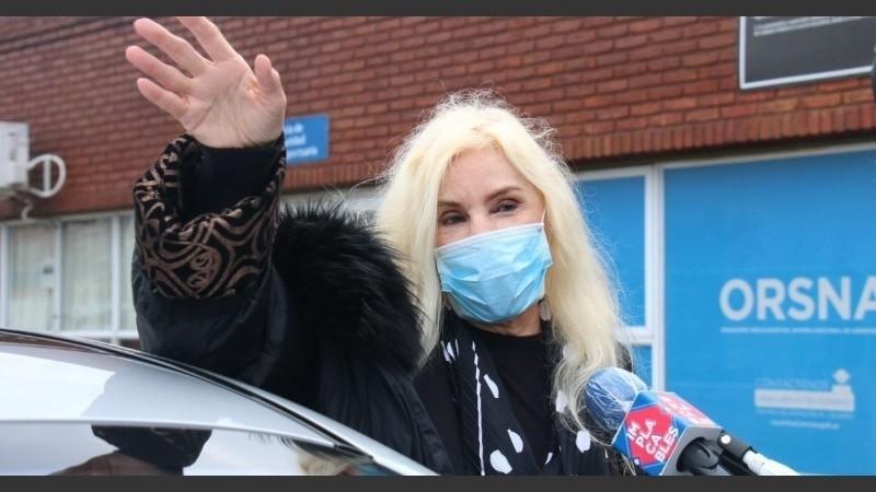 Susana Giménez sigue internada por una complicación en su cuadro de coronavirus y evalúan trasladarla a la Argentina