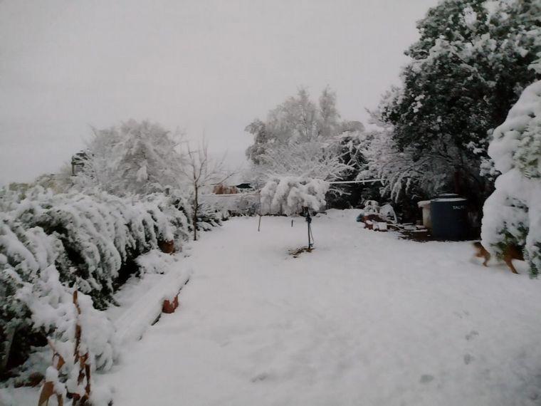 Histórico: nevó en Córdoba después de 14 años