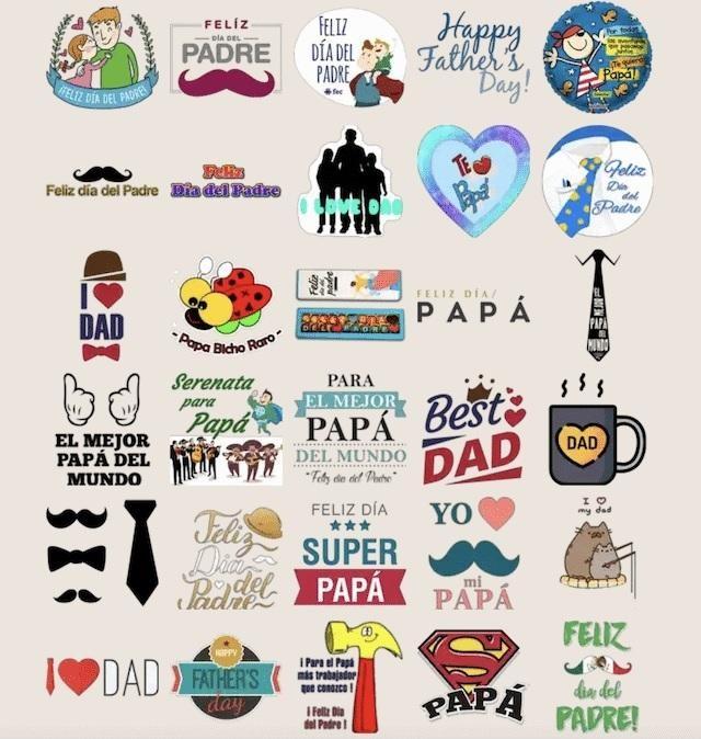 WhatsApp celebra el día del padre con nuevos stickers para homenajearlos