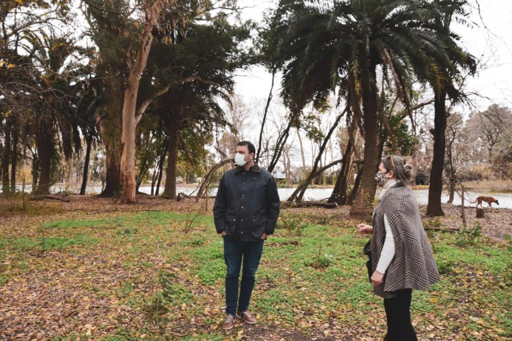 9 DE JULIO | Mariano Barroso recorrió La Reserva Natural La Isla en el parque San Martín