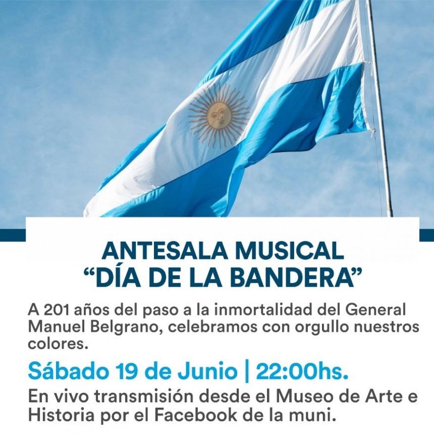 ANTESALA MUSICAL DÍA DE LA BANDERA. En vivo y directo